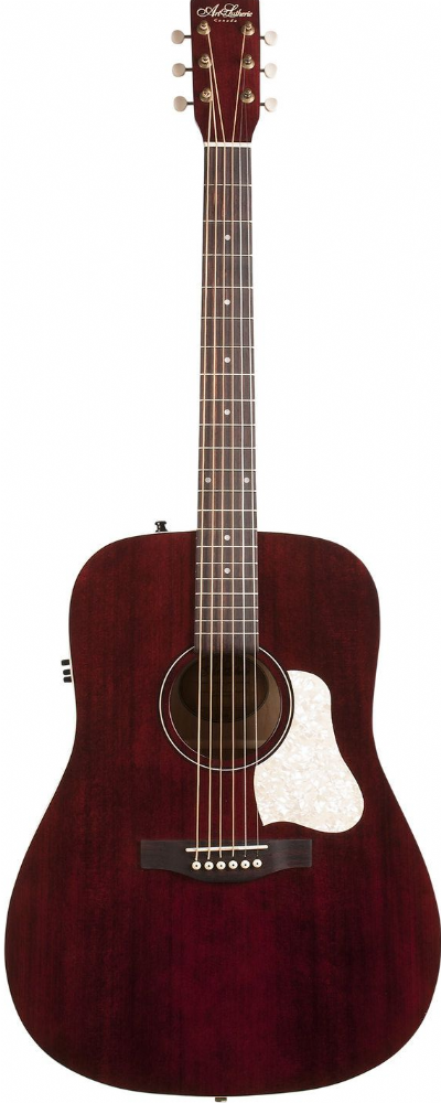 Art & Lutherie Americana Dreadnought Q1T, Tennessee Red